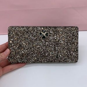 Kate Spade ♠️ Sparkle Wallet New Collection